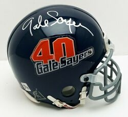 Gale Sayers Chicago Bears Autographed Riddell Commemorative Gale Sayers Mini Hel