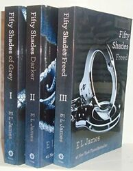 Fifty Shades Trilogy 3 Book Set Fifty Shades Of Grey / By E L James