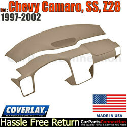 Coverlay Combo Kit Medium Brown 18-904c-mbr Dash/vent Cover For 97-02 Camaro,ss
