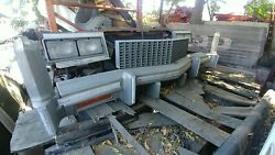 76 Cadillac Eldorado Front Bumper With Core Support Grille Header Cooling Conv