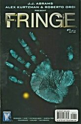 FRINGE #1 FIRST COMIC BOOK APPEARANCE PHOTO COVER WILDSTORM * DC 2008 NICE