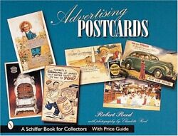 Advertising Postcards Schiffer Book For Collectors With By Robert Reed Mint