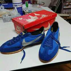 Nike Road Runner Sneakers Blue X Silver Menand039s Size Us10 80s Vintage Dead Stock