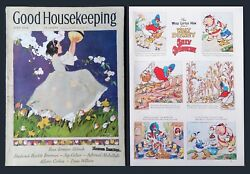 1st Appearance Of Donald Duck Anywhere - Good Housekeeping June 1934 - Disney