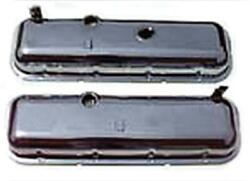 El Camino Valve Cover Big Block With Drippers Chrome 1965-1975 55-196360-1