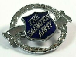 The Salvation Army - Women's Uniform Metal And Enamel Pin Badge Brooch - 30mm Dia
