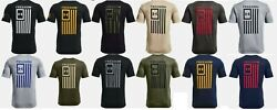 Under Armour Menand039s Ua New Freedom Flag T-shirt 1370810 Nwt