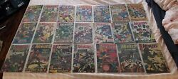 Avengers S.a. Comic Book Lot Vg-f 40 Total Issues