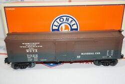Lionel 6-26165 Lrrc Western Union Telegraph Co Material Car Woodside Reefer