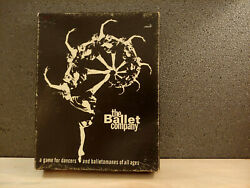 The Ballet Company Board Game Stetson Enterprises Sealed/unused Parts Complete