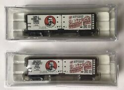 Intermountain Alfred Packer Meat Co. N Scale Trains 40' Steel Sided Ice Bunkers