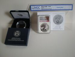 2019-s Enhanced Reverse Proof Silver Eagle Ngc Pf70 First Releases 19xe
