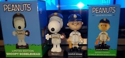 2021 San Diego Padres Peanuts Snoopy Themed Bobblehead Limited Edition Sold Out