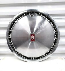 Vintage Oldsmobile Hubcap Wheel Cover 1970s 16 Red Old Logo Cars Automobiles