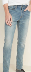 Nwt Old Navy Slim Built-in Flex Jeans For Men Sold Out 50 38 X 32