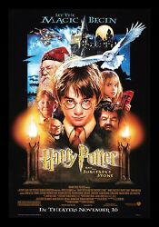 Harry Potter And The Sorcerers Stone ✯ Cinemasterpieces Original Ds Movie Poster