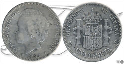 Spain - Coins Centenario- Year 1894 - Number 00070 - Bc Alfonso Xiii 1