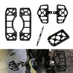 Front Rear Mx Style Floorboards Shift Linkage Brake Pedal Cover Fit For Harley