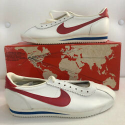 Brand New In Box Vintage 1979 Nike Cortez Made In Saco Maine - Size 9.5