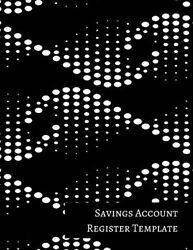 Savings Account Register Template By Insignia Accounts Brand New