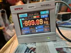 Unipulse F372 Digital Indicator Touch Panel Used With Showa Load Cell