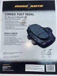 Minn Kota 1866075 Corded Foot Pedal For Terrova And Riptide St 2016 And Earlier.