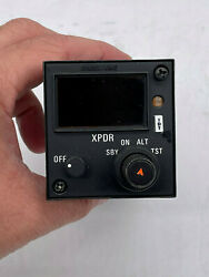 Bendix King Kfs 576a Atc Xpdr Control P/n 071-1276-08 Repaired With Faa 8130