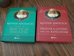Mother Angelica Book Lot Of 2 Hc Like New Catholic