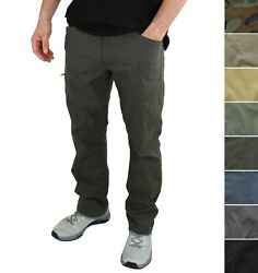 Wrangler Authentics Menand039s Cargo Pants Flex Waist Nw780 Straight Fit Outdoor