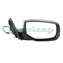 For 13-17 Accord Rear View Door Mirror Assembly Power Heated W/signal Right Side