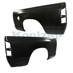 02-09 Ram Pickup Truck W/6and039 Bed Rear Fender Quarter Panel Left And Right Set Pair