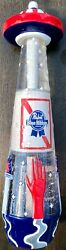 Pabst Blue Ribbon Beer Pbr Art Series Ufo Spaceship Tap Handle New In Box