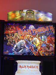 Iron Maiden Pinball Topper. Stern Official. Aces High Version. Open To Offers.