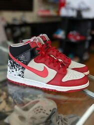 Pre Owned Nike Zoom Dunk High 2009 Men Shoes No Box