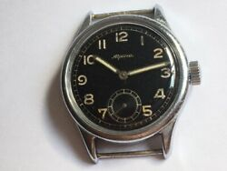 Alpina D Cal 592 German Military Watch For Services Of The Luftwaffe 1940s Ww 2