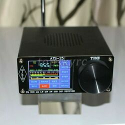 Ats-25 Si4732 Full-band Radio Receiver Dsp Fm Lw Mw And Sw Ssb 2.4 Touch Screen