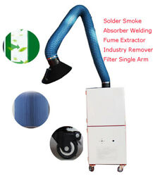 1pc 220v Welding Smoke Purifier Welding Fume Extractor Mobile Unit 1.5hp Powered