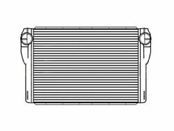 Fits A 2008-2012 Peterbilt 367 Charge Air Cooler With Bar And Plate
