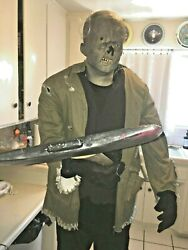 Halloween Prop Animated 7 Ft Tall Jason Voorhees. Friday The 13th. Fully Working