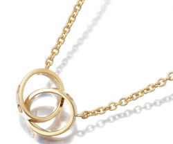 Auth Necklace Baby Love 18k 750 Yellow Gold
