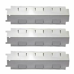 Ks74 Gas Grill Heat Plate Shield Tent, Burner Cover Flame Stainless Steel 3