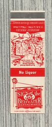 Matchbook Cover-sign Of The Beefeater Restaurants Dearborn Michigan-7462