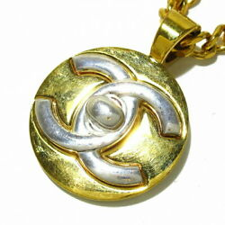 Necklace Coco Mark Gold Silver Metal Material