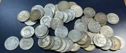 26.50 53 Total Face Value 40 Silver Kennedy Half Dollars 1965-1969