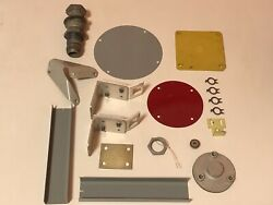 Lot Of Bell 205 Uh-1 Huey Helicopter Partsandmdashdoor Catches Cover Plates An832