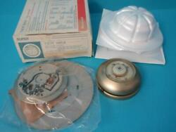 Nib Honeywell T87f 1859 The Round Heating-cooling Thermostat New Nos Gold Color
