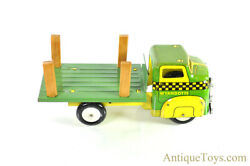 Wyandotte Toys All Metal Products Company Pressed Steel Lithographed Stake Truck
