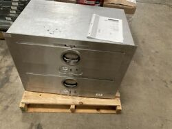 New 2-drawer Toastmaster 3b84a Food Warmer