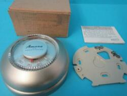 New Nos Honeywell Round T87f 2204 Analog Gold Color Heating Cooling Thermostat