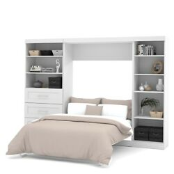 Pur 120 Full Wall Bed Kit In White